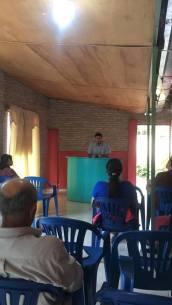 Diego predicando